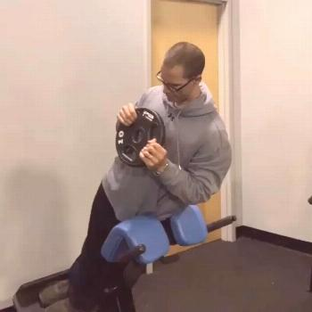A different form of the side plank or palloff press. Start light