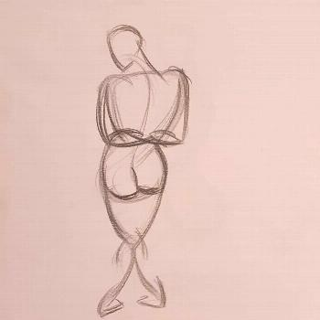 Day 28 #figuary2020 #gesturedrawing #drawingforce