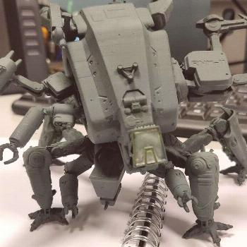 gonna get more colors later on. I am addicted. #3dprinting #mecha