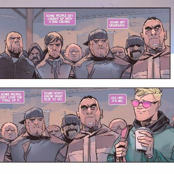 Hawkeye Freefall #1 by .press and is a whole ass mood . It's enti