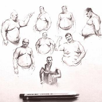 Here are some great body reference/ study for your figure drawing