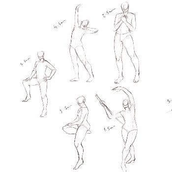 More poses . . . #draw #drawings #study #bodyreferences #desenho