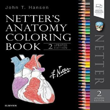 Netter's Anatomy Coloring Book Updated Edition (Netter Basic