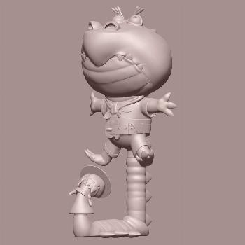 Sometimes I see designs that make me want to stay up and sculpt. Heres a little sculpt from a few n
