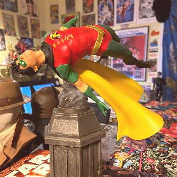 Stoked about how this came out! DC Gallery Robin for Diamond Sele