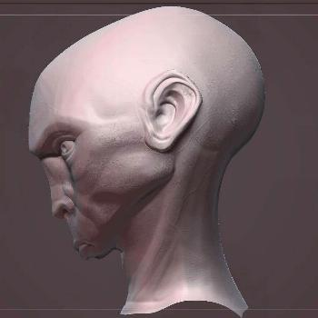 stylized sculpt WIP stylized sculpt   Anatomical Mask - Item   Giust Gallery  A genuine smile is ha