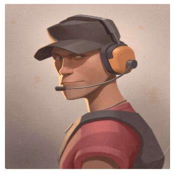 Team Fortress 2 portraits by Moby Francke charactermodeling