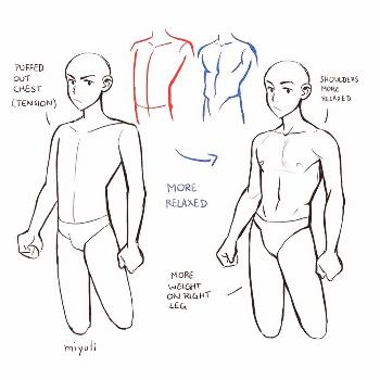 Upper body tips ️ From SUPPORT THE ARTIST!! . Follow for art ti
