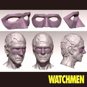 WATCHMEN (2019) - Ozymandias Mask Only had a very small role on t