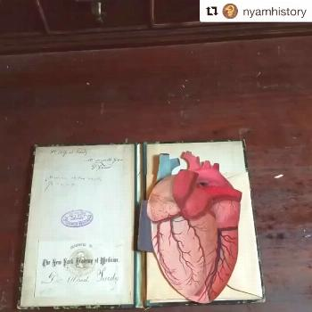 What a great historical #heartmonth find from the NYAM Library! I