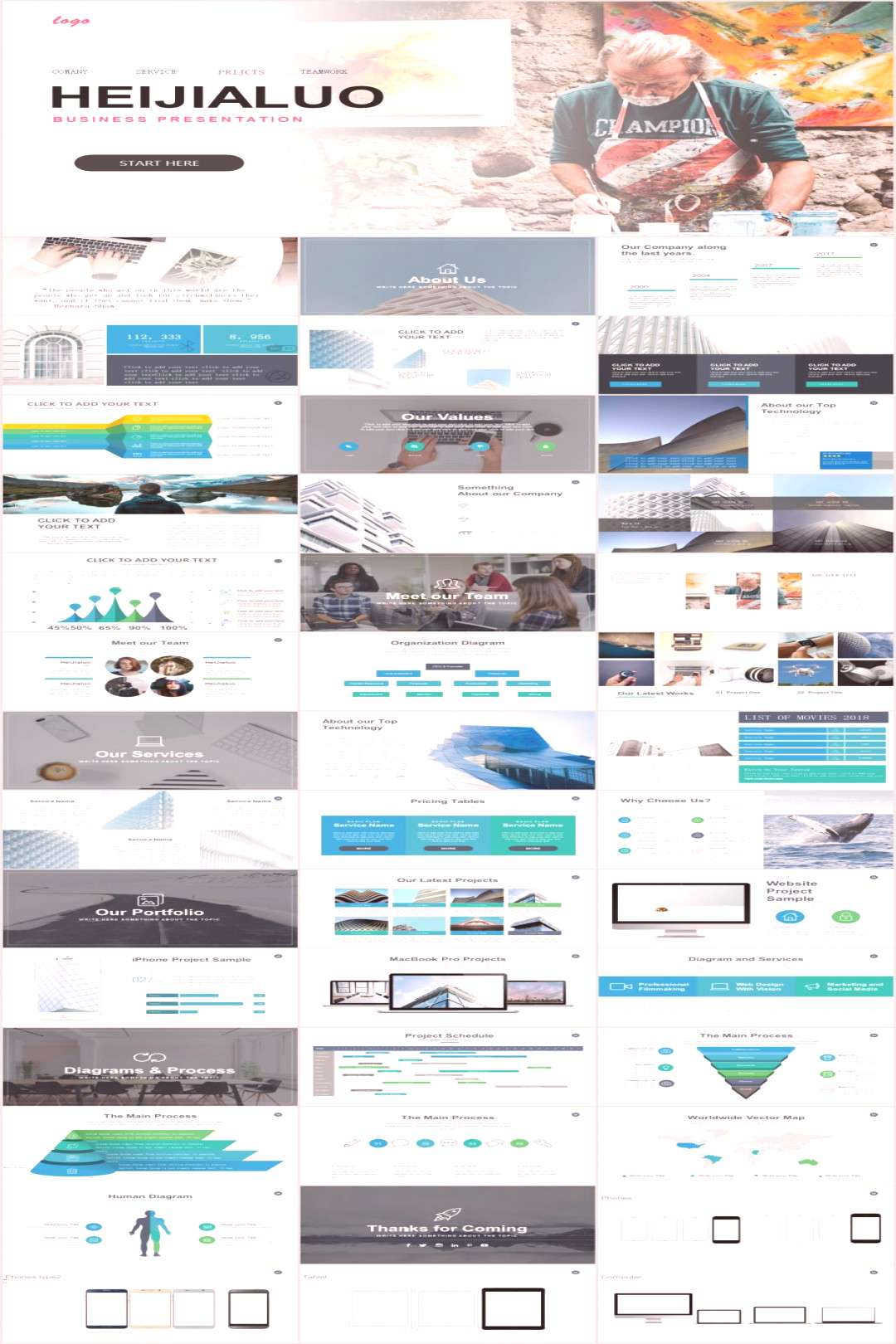 39+ Best mobile business Plan PowerPoint template – The highest quality PowerPoint Templates and
