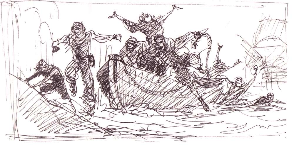 aapstra (Pocahontas storyboards by Glen Keane....)