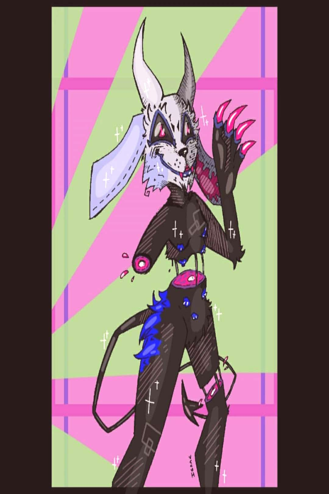 Art Trade with an amazing person on Furry Amino! His/Her characte