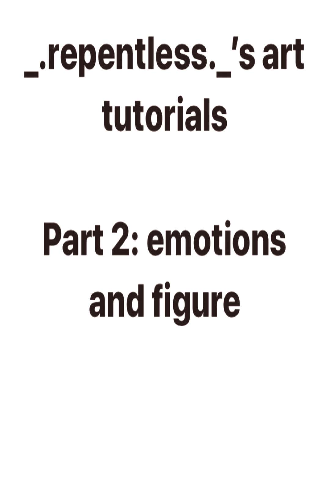 Art tutorial # 2 Personality is the best way to describe this act