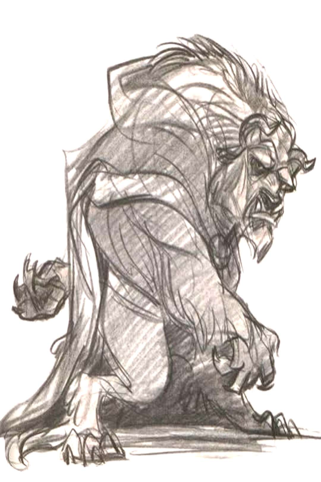 Artist Glen Keane () Movie Beauty and the Beast (1991) Support