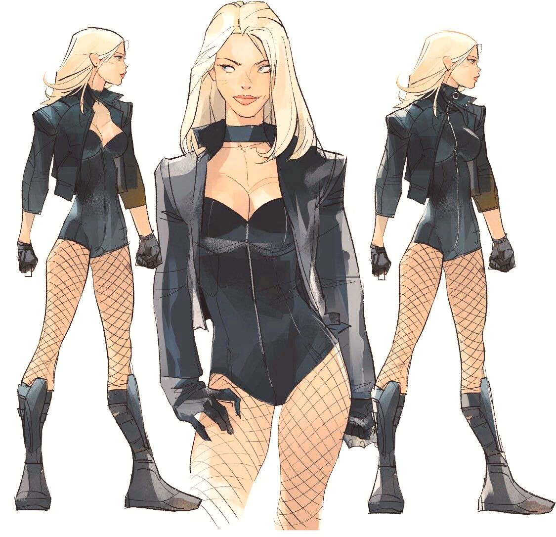 Black Canary by Otto Schmidt Black Canary by Otto Schmidt