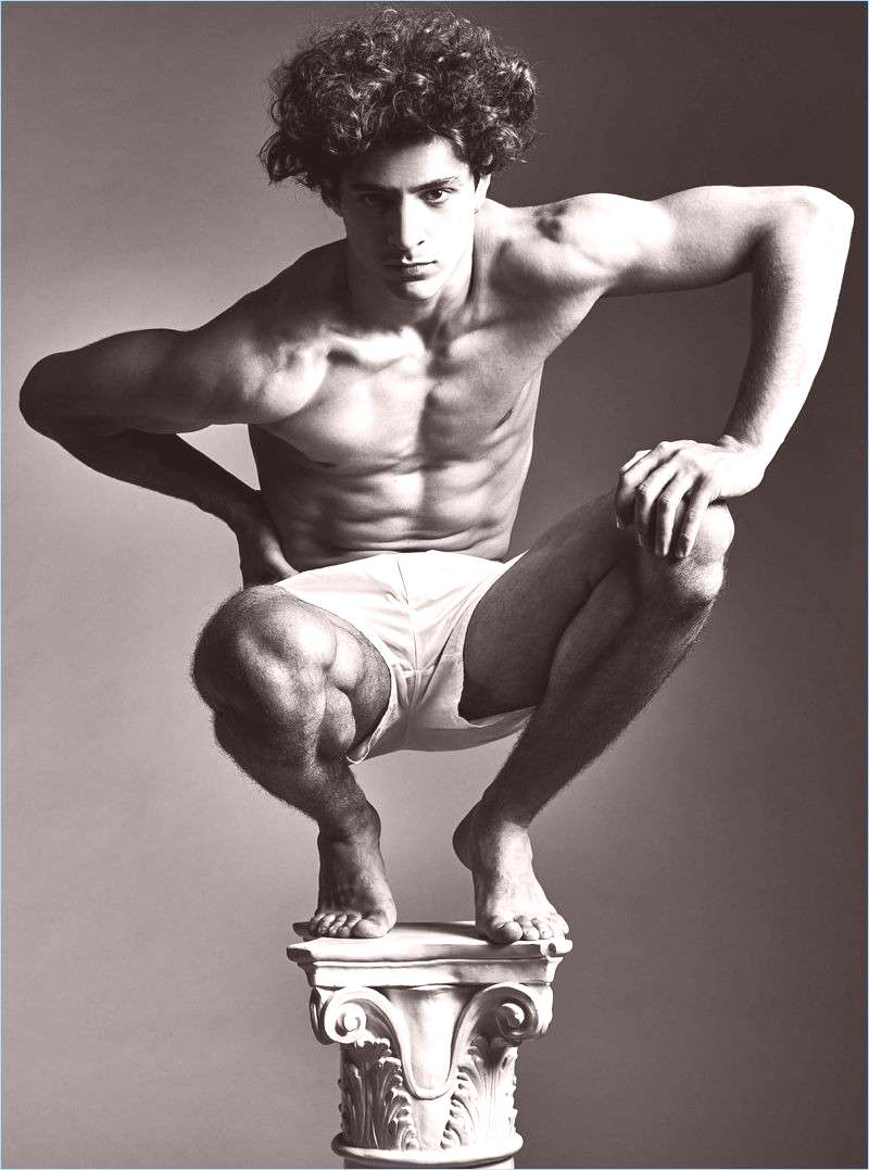 Classical sculptures come to mind with a new editorial from H magazine. Entitled quotRemnants of the P