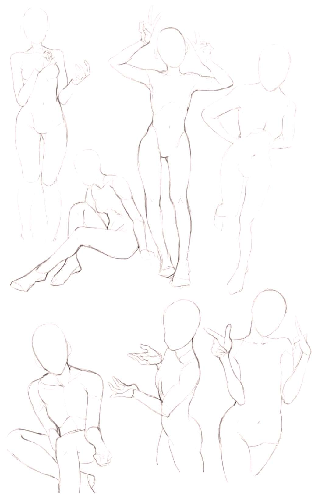 Drawing The Other Eye The Human Figure - Tips For Beginners Image result for female pose reference