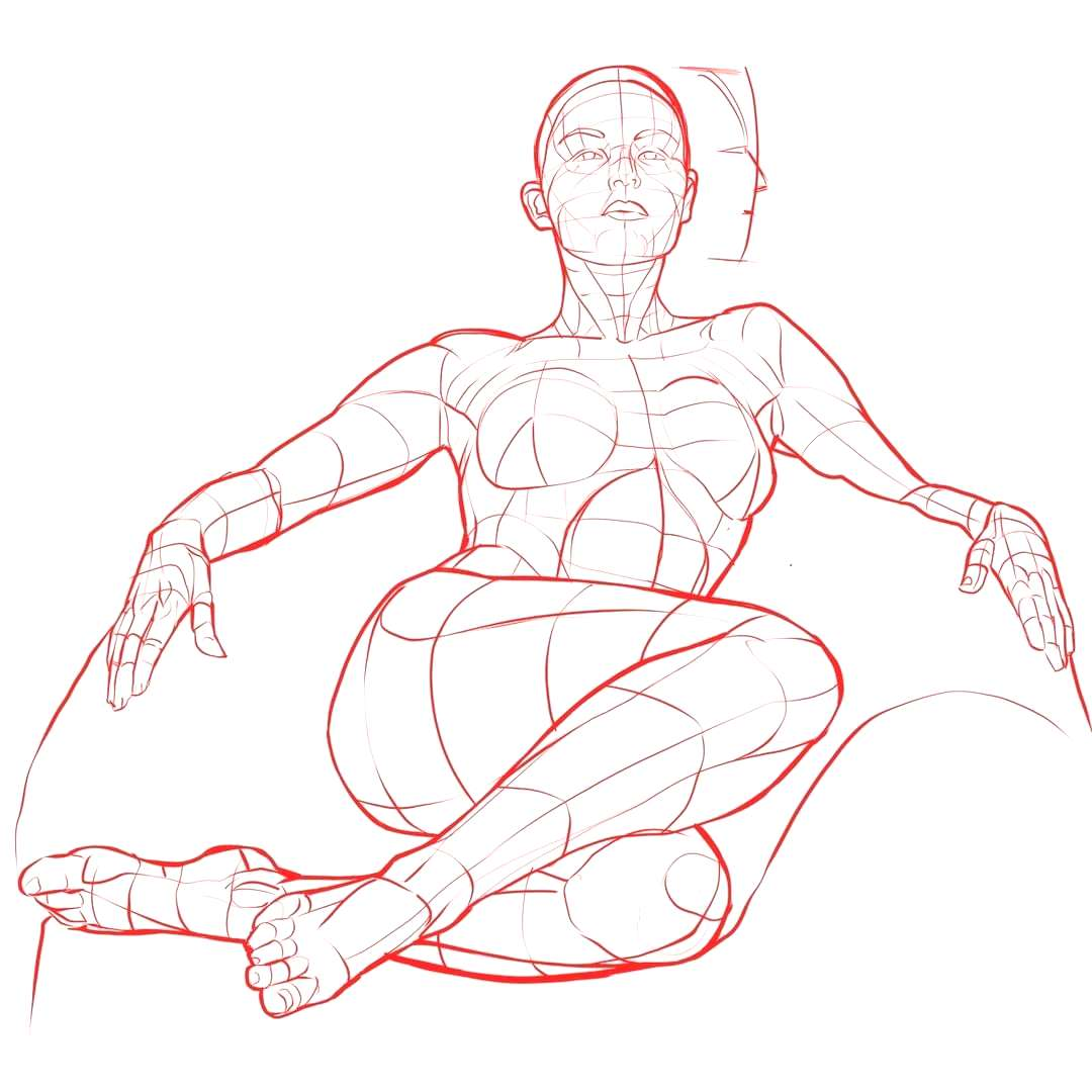 Drawing Tutorials Drawing Tutorials Female - In Repose Its a pain to come-up with new poses all th