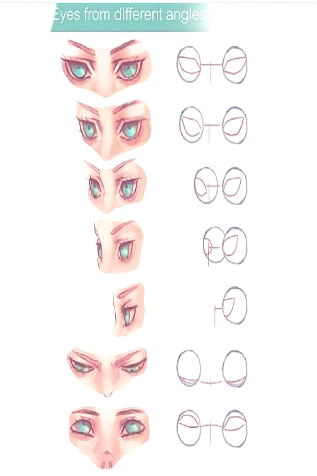 Eyes from different angle Credit wysoka on devianart SUPPORT THE