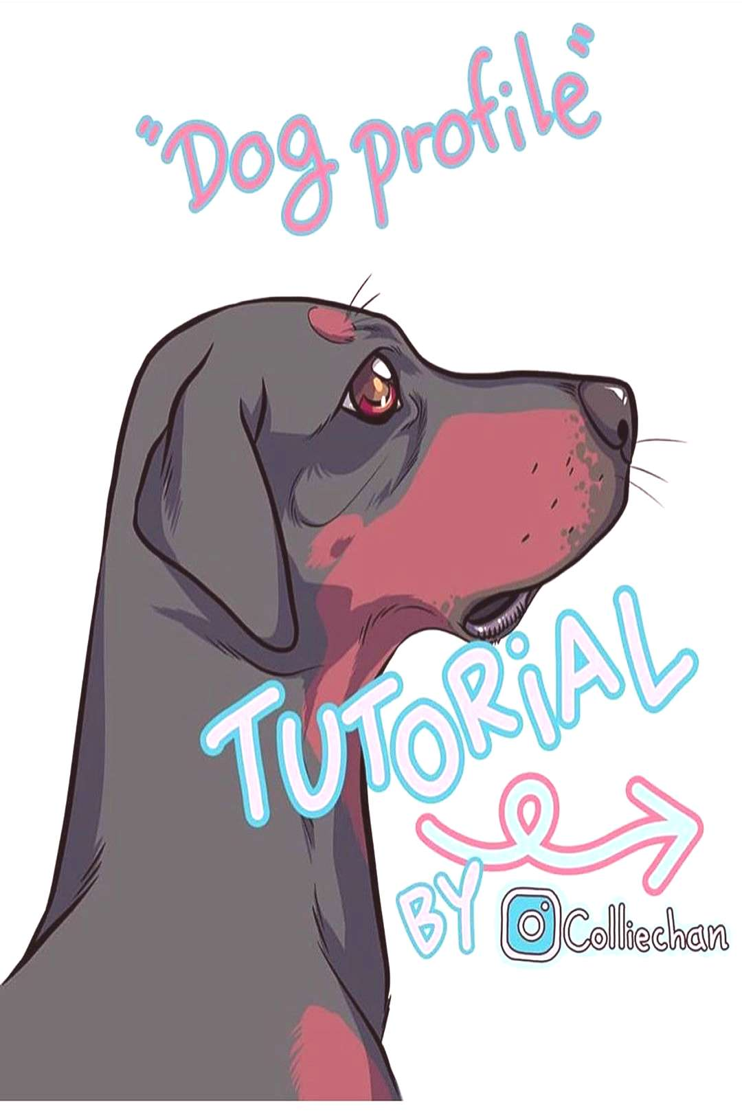 Learn to draw some doggos From SUPPORT THE ARTIST!! . Follow for