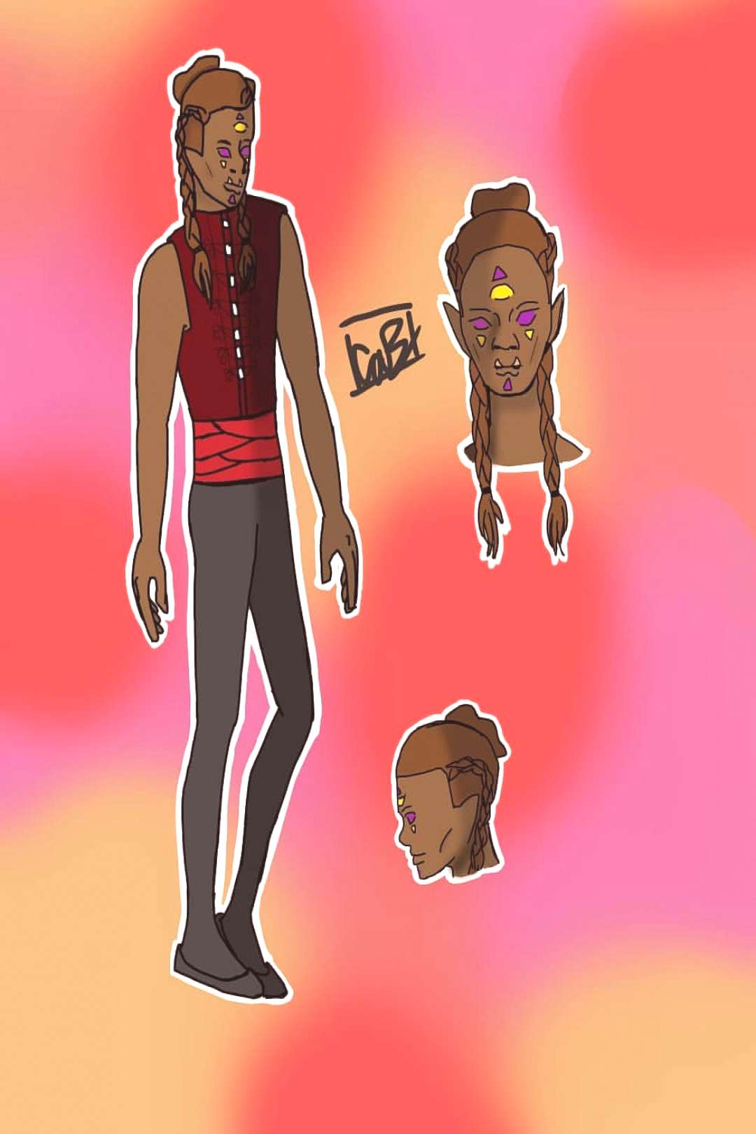 Main character Nix/Speira - 710quot - roughly 360 lbs - bisexual -