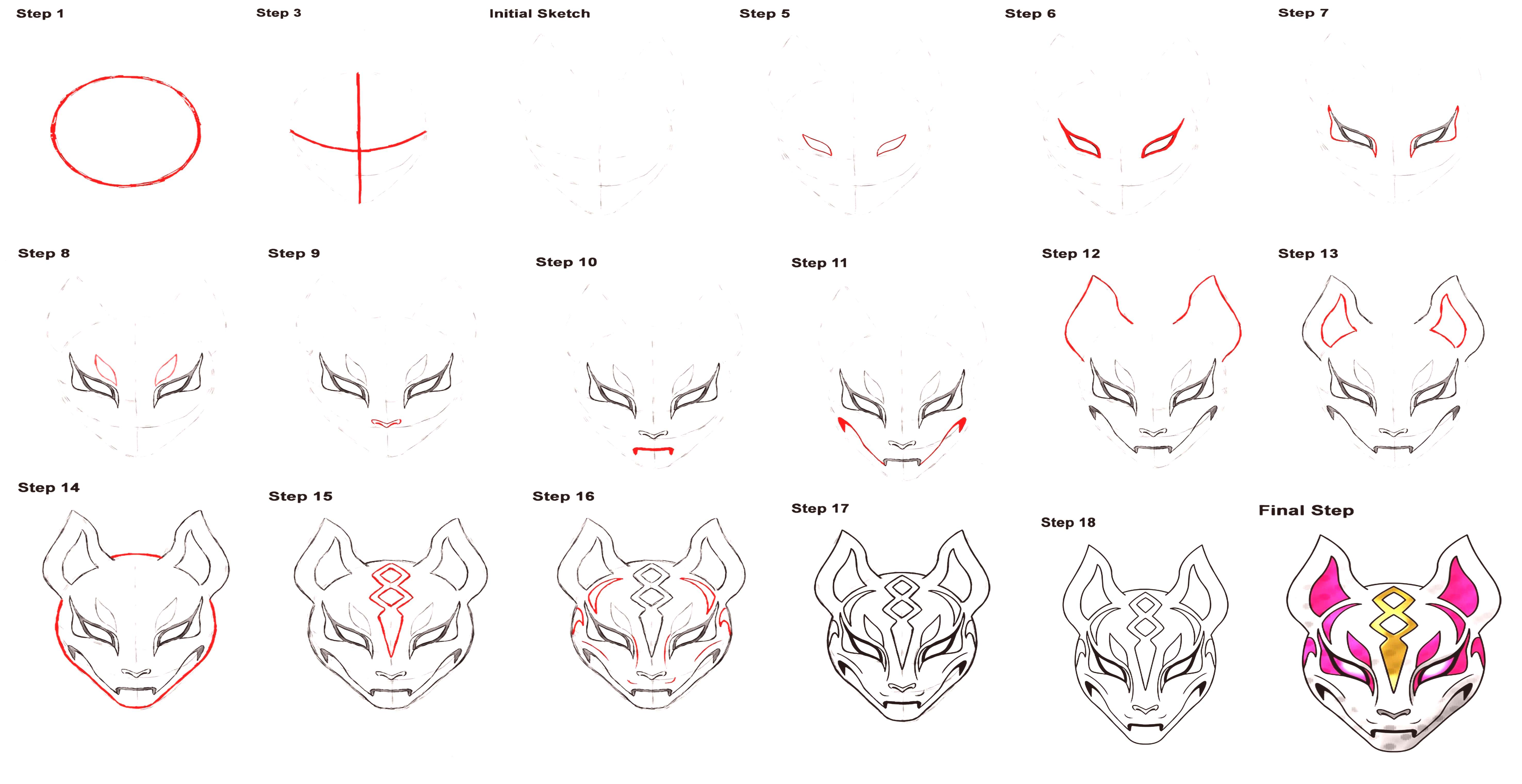 max fortnite kitsune mask how to drawing instargam @saralsulenazYou can find Zbrush and more on our