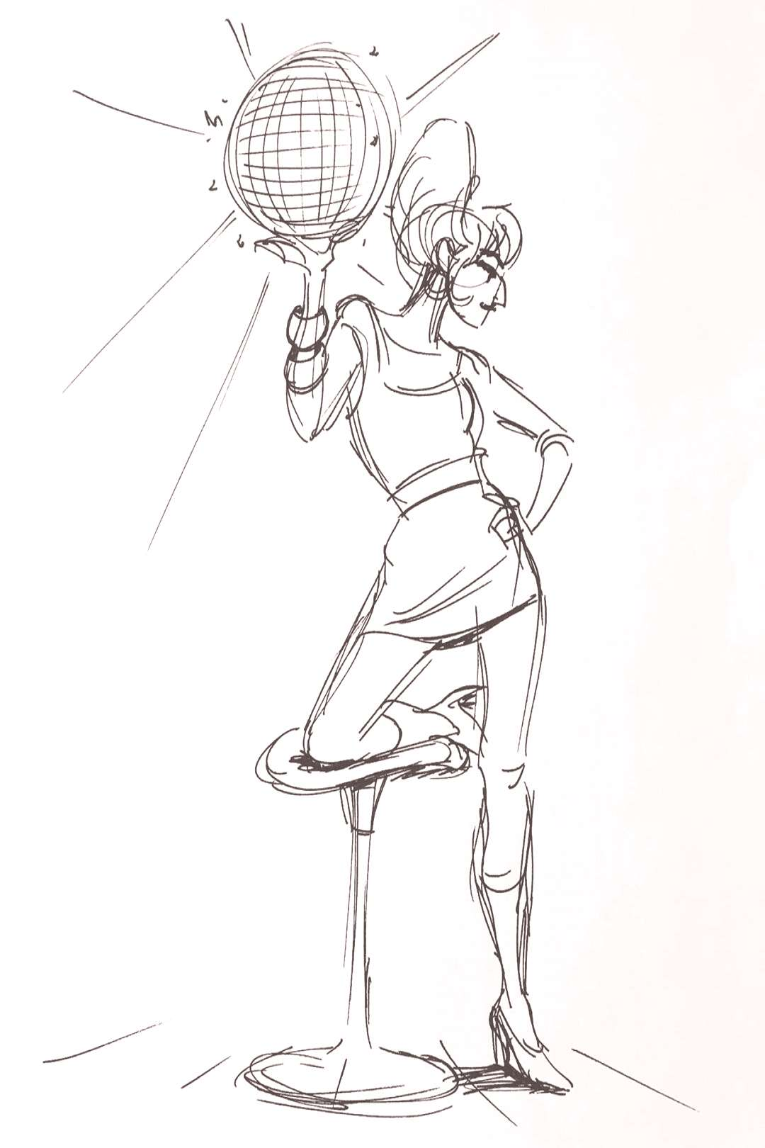 More gesture drawings - poses were around 4 minutes, I think? #ge