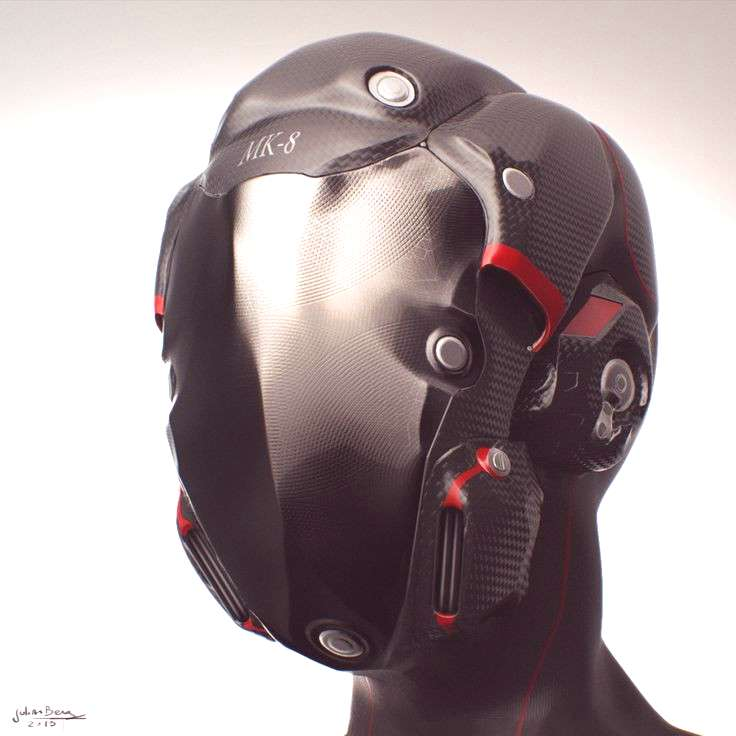 Motorcycle Helmet Zbrush by Kratoseum - Concepts -