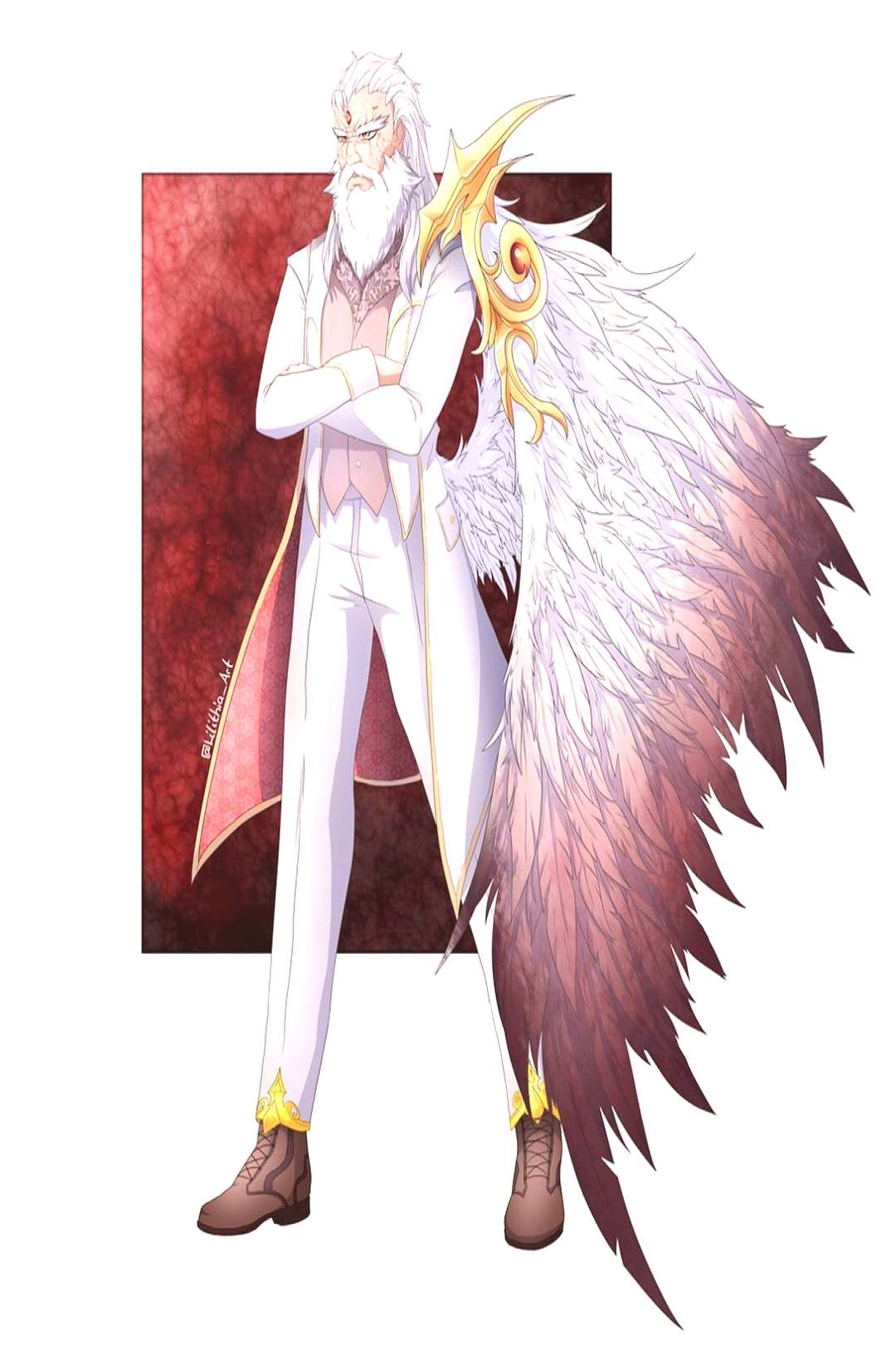 Mundus the God of Hell . Let me introduce you Mundus, Lord of De