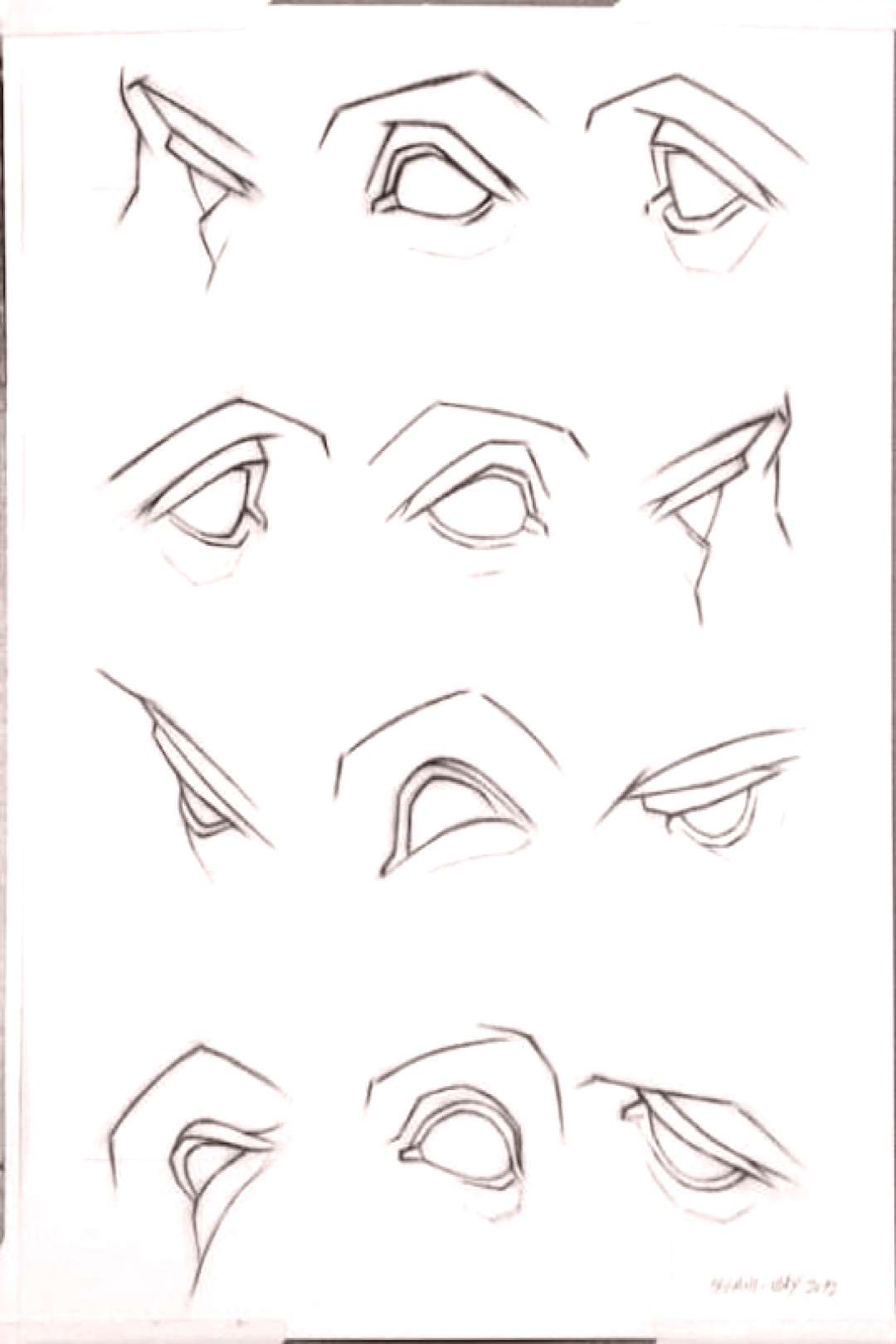 Realistic drawing reference dump - Imgur