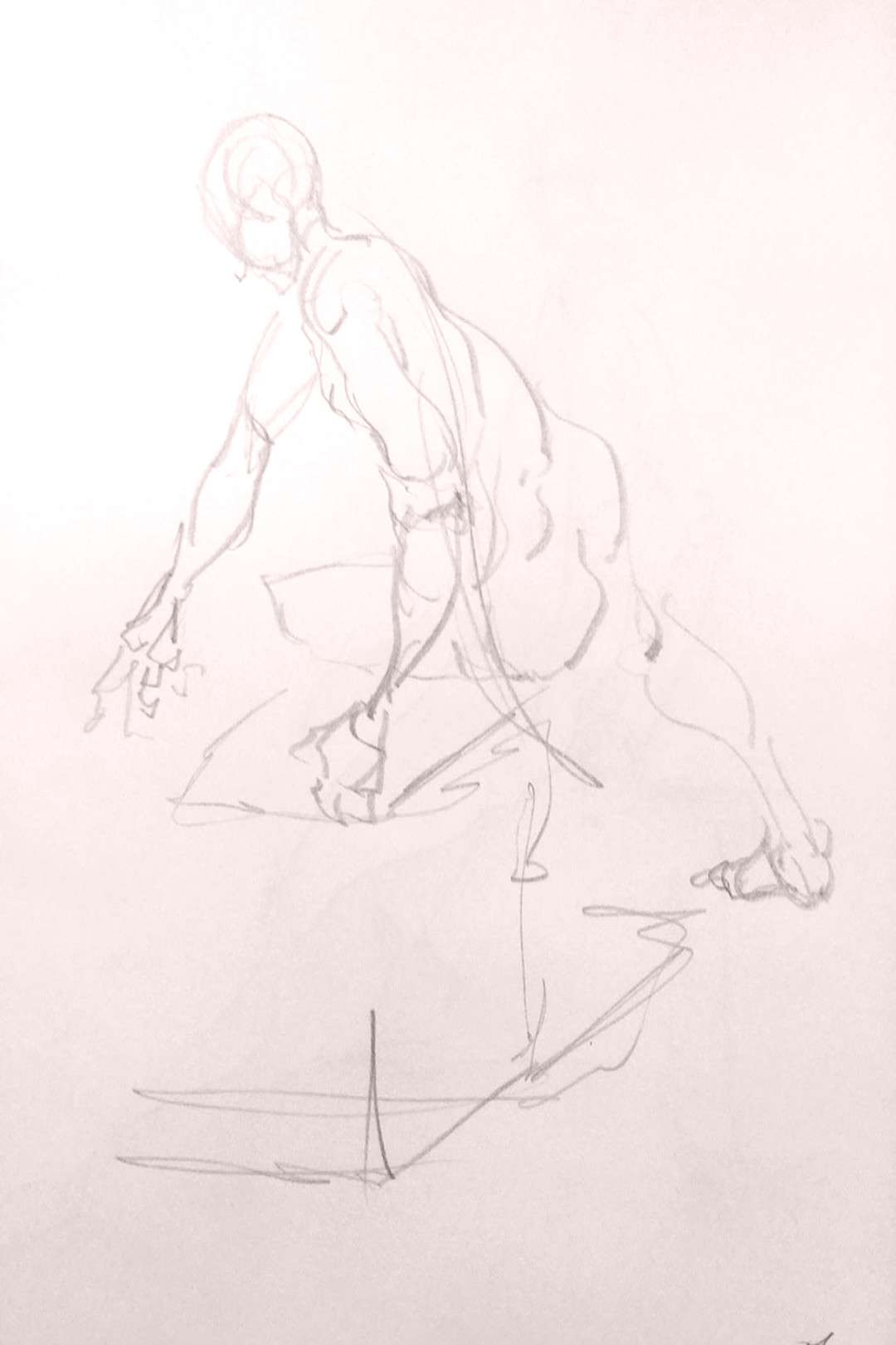 Some 2m gestures from Friday. #lifedraw #drawnfromlife #croquis #