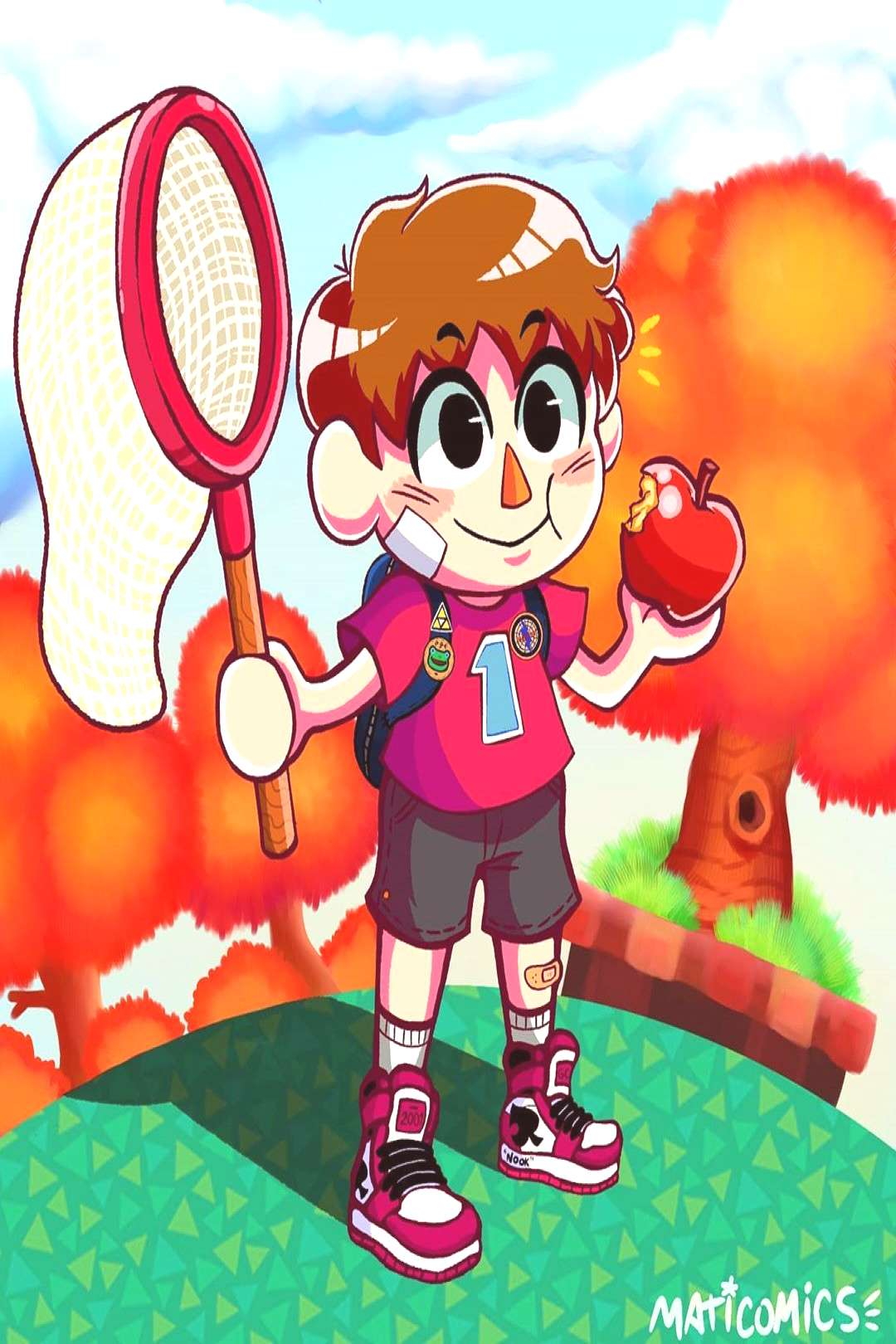 The Villager from the Animal Crossing series. Im really hyped fo