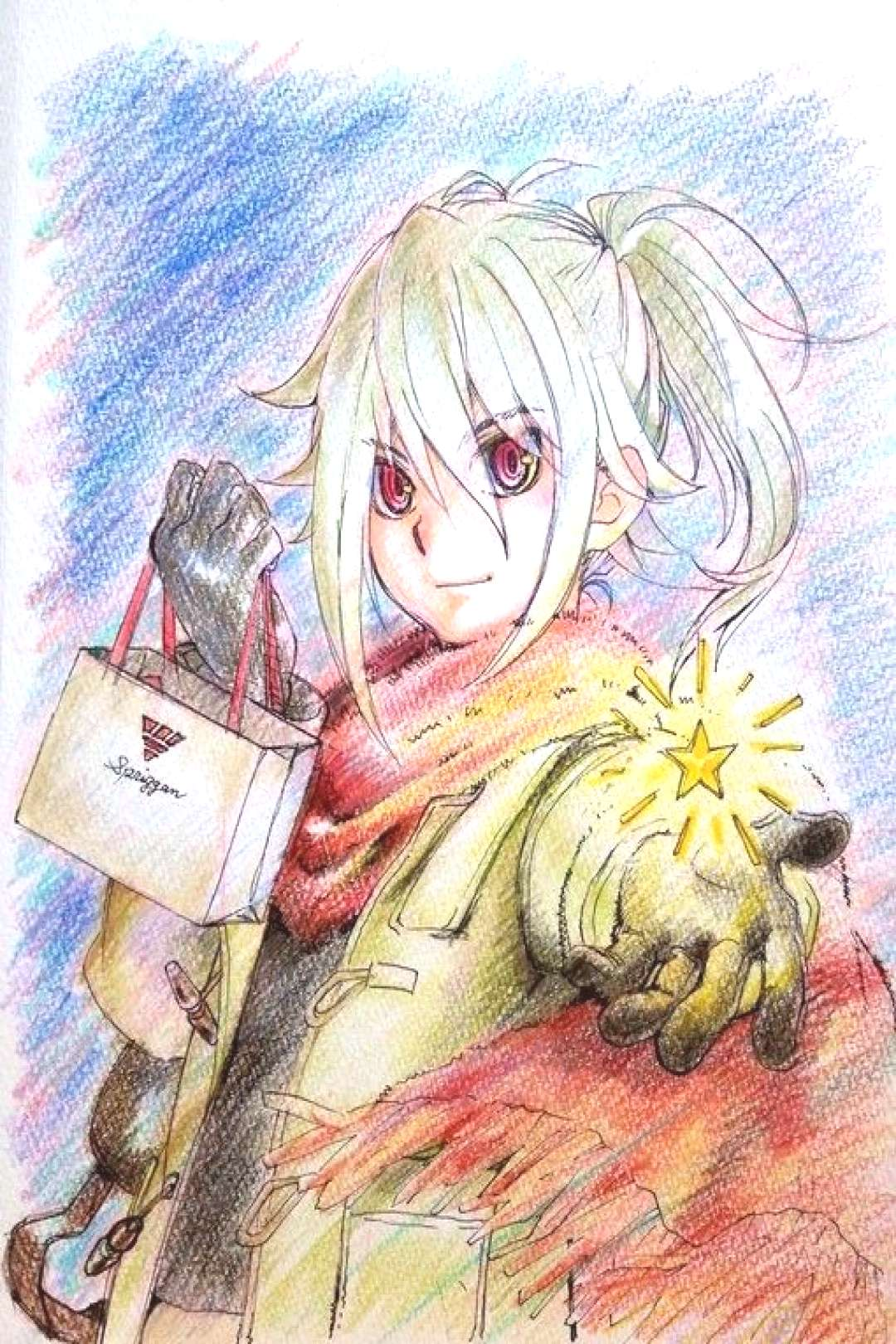 To celebrate Christmas,てる,who works in the animation of Beyblade Burst,made ..., ... To celebr