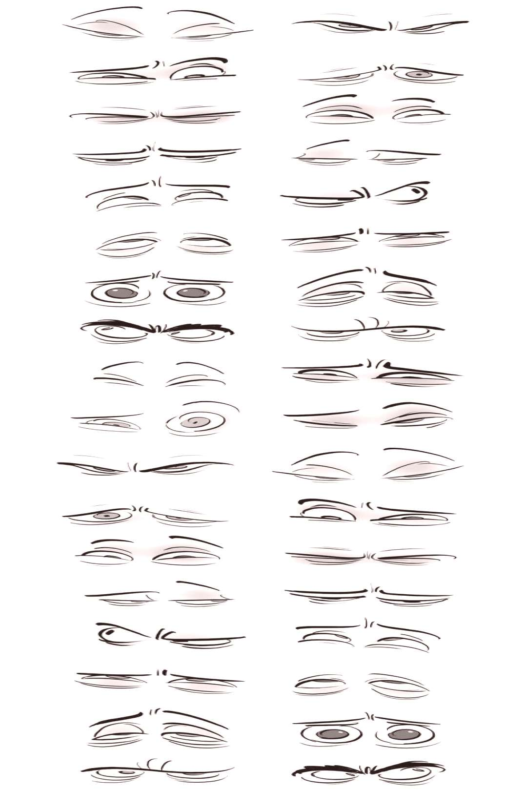 Trendy Drawing Eyes Expressions Anatomy 68+ Ideas , Trendy Drawing Eyes Expressions Anatomy 68+ Id